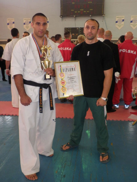 Zahari Damyanov Won Europe Championships 2009 in +90 first place